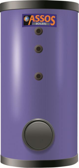 Μπόιλερ Assos BL2 300 lt τριπλής ενέργειας 3